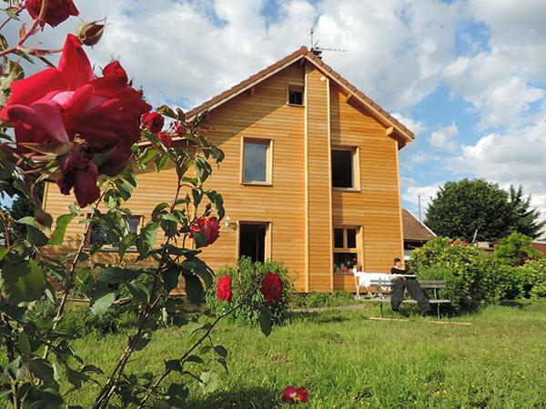 Rénovation maison en Isère, isolation bois