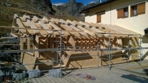 Extension en ossature bois - Maison Ecologique à Energie Positive